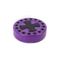 Шайба для стрит-хоккея Mad Guy фиолетовая